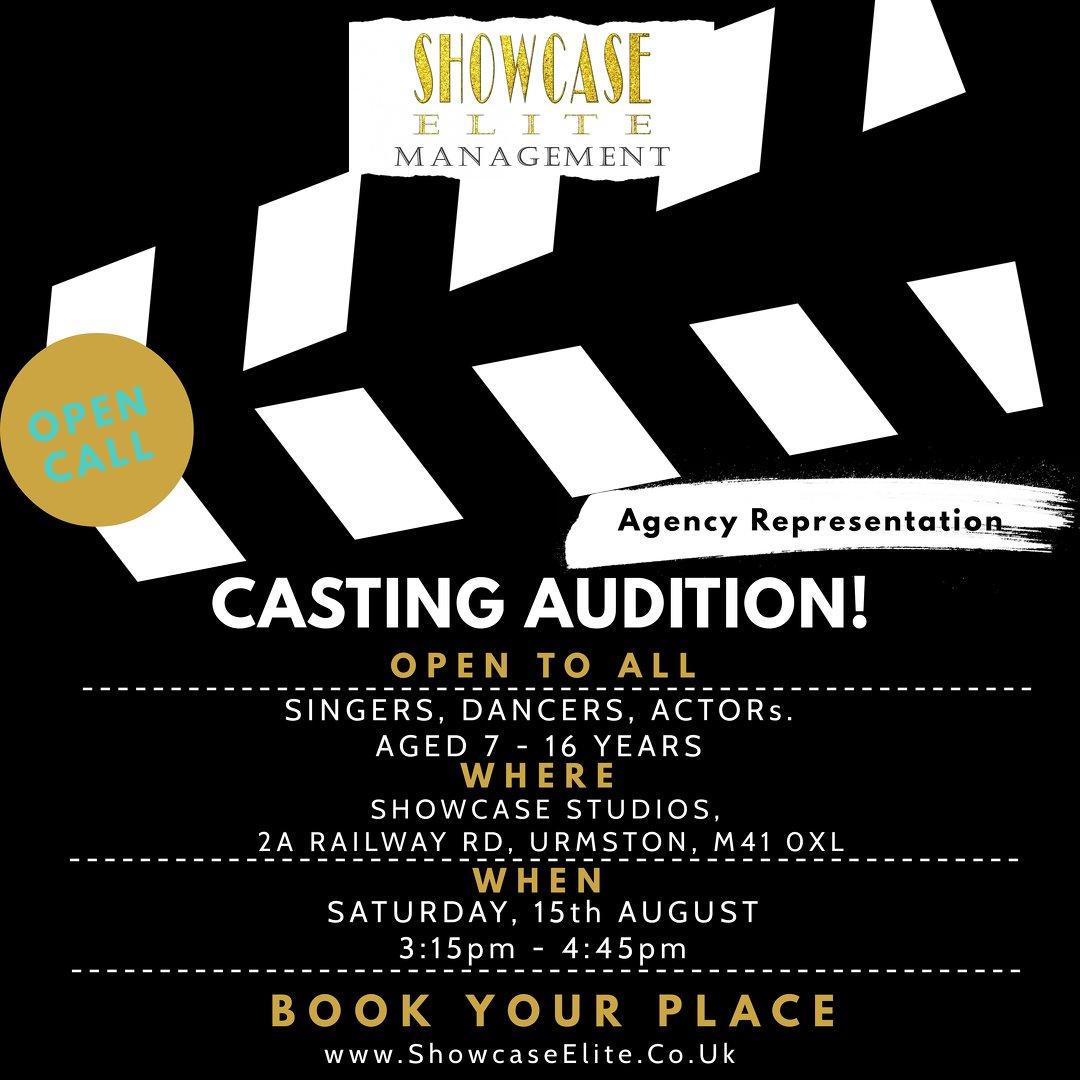 Showcase Elite Casting Calls
